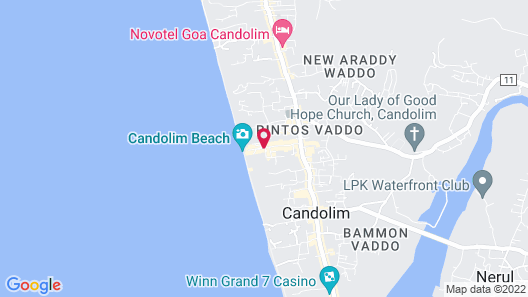 360 Degree Beach Retreat Map