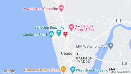 Sea Mist Resort Map