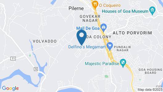 Sterling Goa Bardez Map