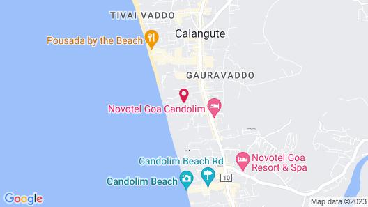 Backpacker Panda Goa Map