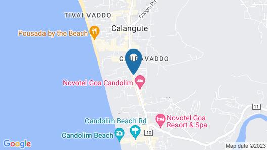 Hyatt Centric Candolim Goa Map