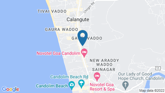 Baywatch Express Urbane Map