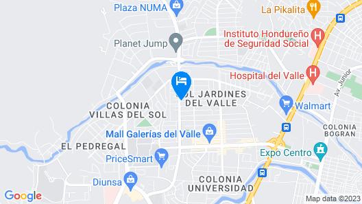 Hotel Casa del Arbol Galerias Map