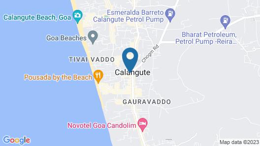 Atlanta Beach Resort Map