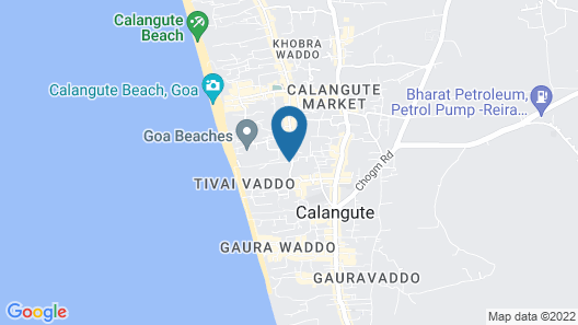 Tivai Beach Cottages Map