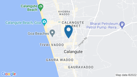 ibis Styles Goa Calangute Hotel Map