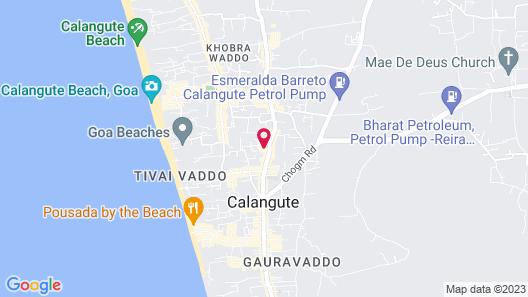 Tangerine Boutique Resort Map