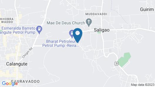 Shanti Morada Map