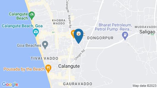 Neelam's The Grand Hotel Goa Map