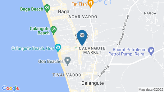 Horizon Hotel Map