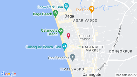 Chalston Beach Resort Map