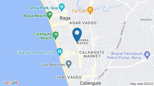 Fahrenheit Hotel Map