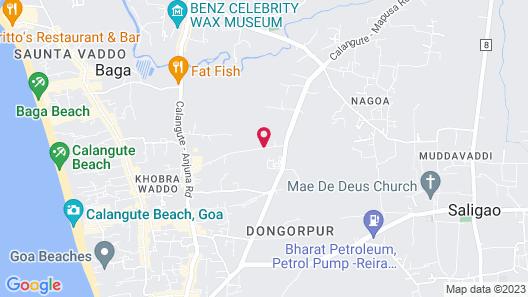 Hard Rock Hotel Goa Map