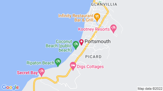Picard Beach Cottages Map