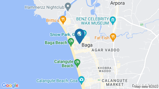 Mayflower Beach Resort Map