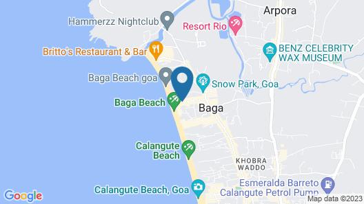 Fiesta Beach Resort Map