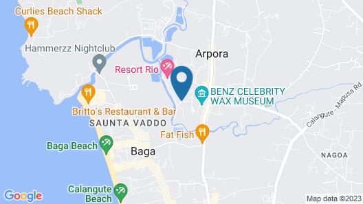 Resort Lagoa Azul Map