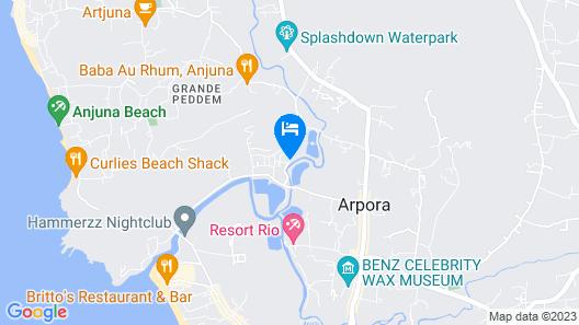 The Park Baga River Map