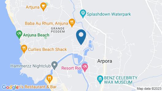 Pride Sun Village Resort & Spa Map