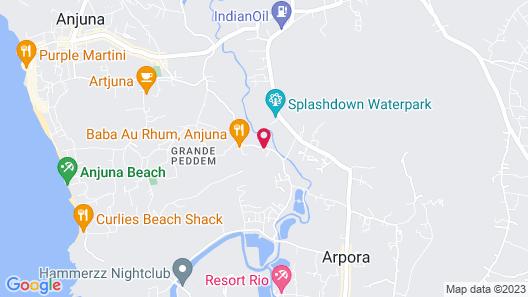 Fairfield by Marriott Goa Anjuna Map