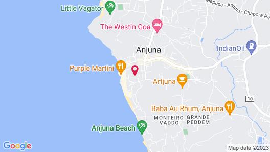 Casa Anjuna Map