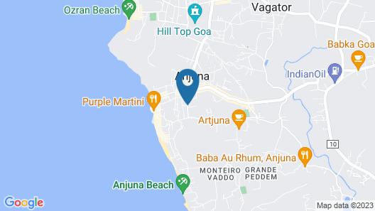 Country Club De Goa Map