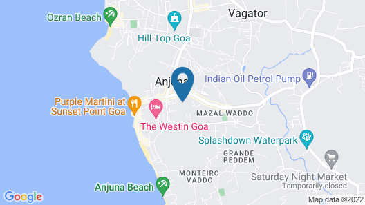 Silver Moon Guest House Map