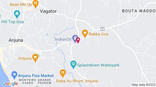 XOXO Hostel Map