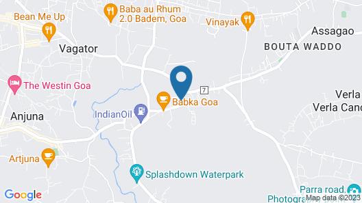 The Tamarind Hotel Map
