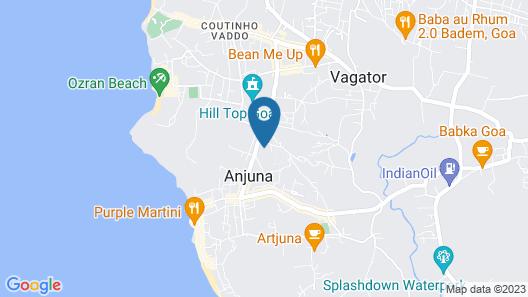 The Westin Goa Map