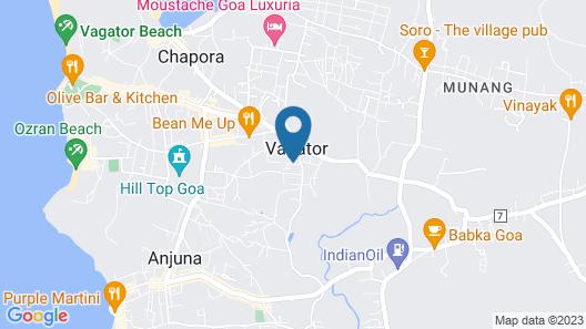 Le Pearl Goa Resort & Spa Map