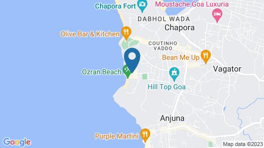 OYO 27847 Casa Playa Map