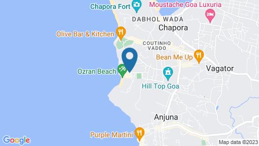 Larive Beach Resort Map