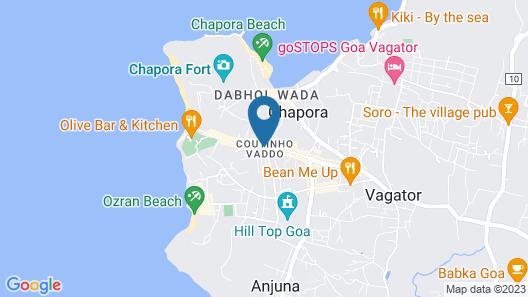 Seaview Holidays Map