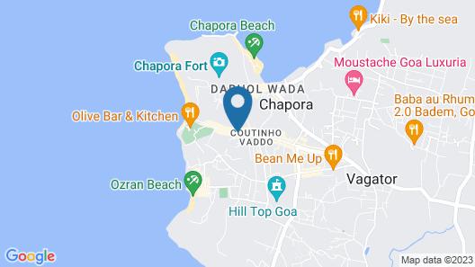 526 Garden Villa Vagator Map