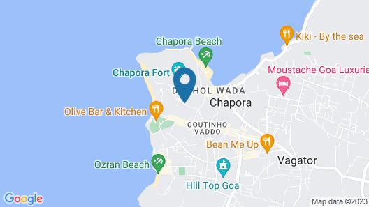 FabHotel Vagator Cottages Map