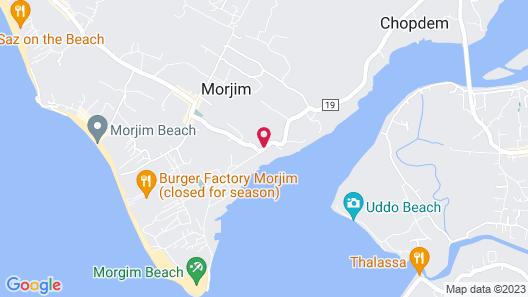 Safira River Front Resort Map