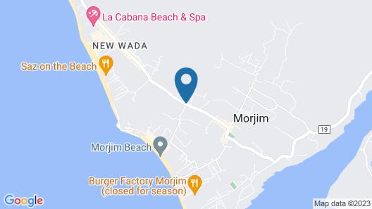 Room Maangta 332 - Beach Goa Map