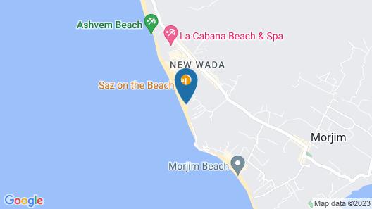 Rudra The Sandy Beach Resort Map
