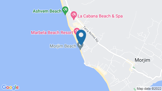 Seascape Eco Beach Resort Map