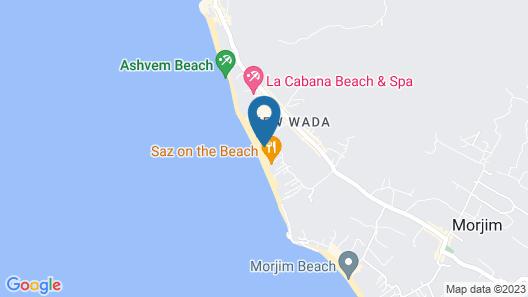 Marbela Beach Resort Map