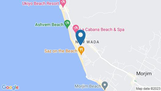 SinQ Beach Morjim Map