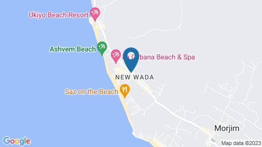 Room Maangta 323 - Morjim Goa Map