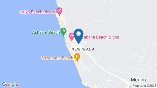 Aquatica Resort & Spa Map