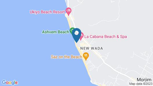 Room Maangta 320 - Morjim Goa Map