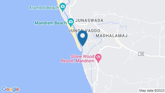 Osaiba Beach Resort Map