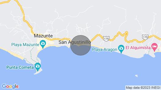 Front beach Vacations - Prieta Map