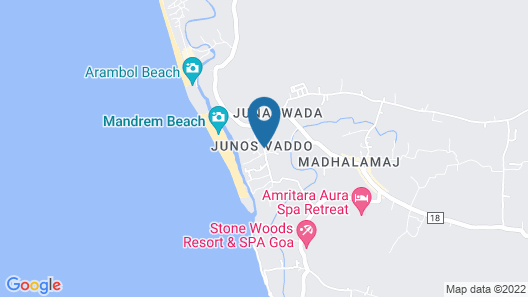 Sol Beso Mandrem Map