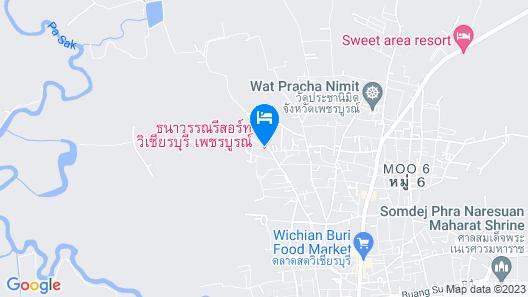 Thanawan Resort Map