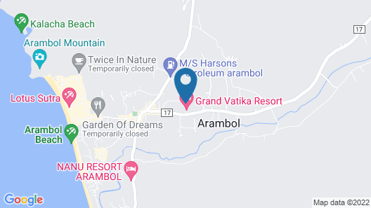 Grand Vatika Resort Map